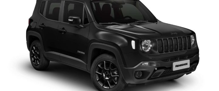 LÍDER ENTRE OS SUVs, JEEP RENEGADE REEDITA O PACOTE NIGHT EAGLE