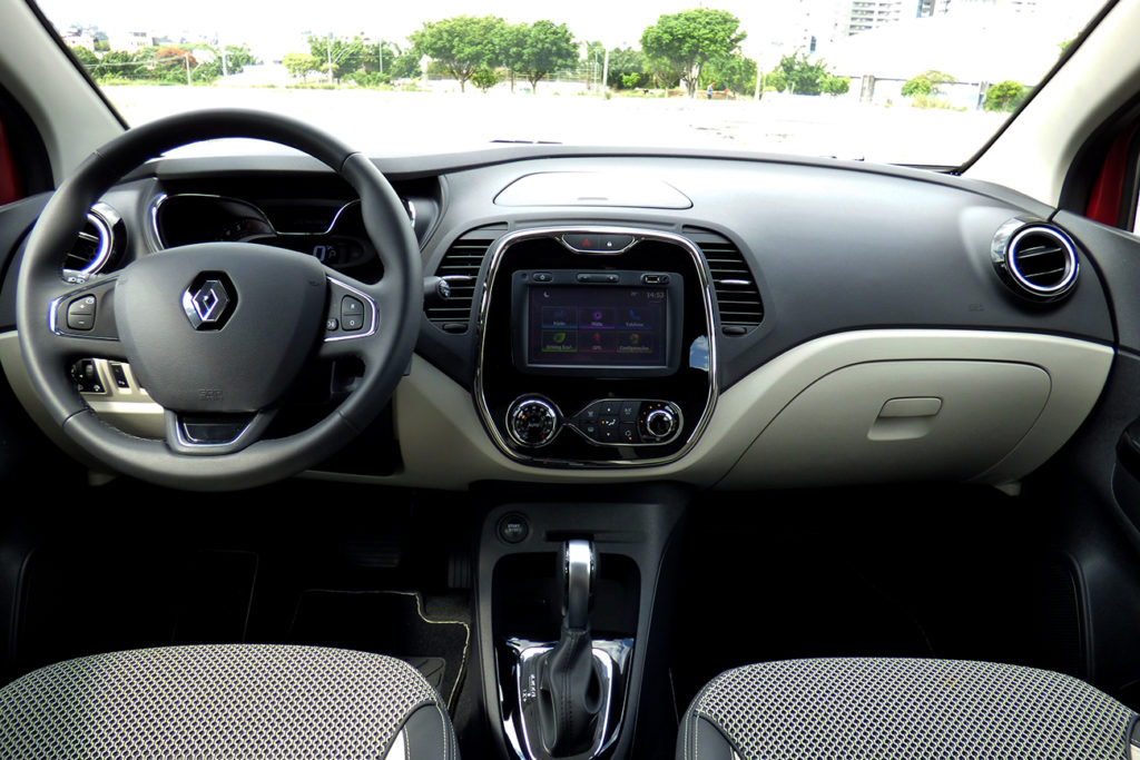 A central multimídia tem conectividade e tecnologia Android Auto e Apple Carplay / Fernando Eduardo